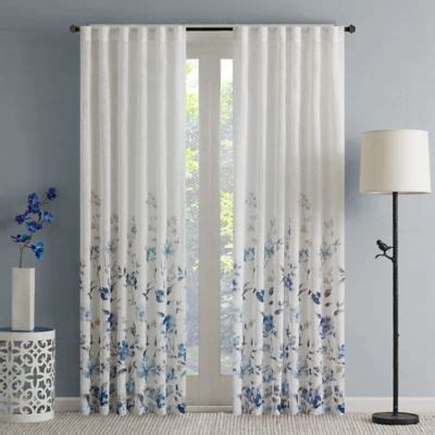 buy   sheer curtain panel  bed bath