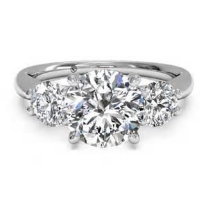 ritani wedding rings ritani three white gold semi mount engagement ring king jewelers
