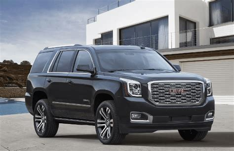 gmc yukon 2020 price 2020 gmc yukon release date price and specifications
