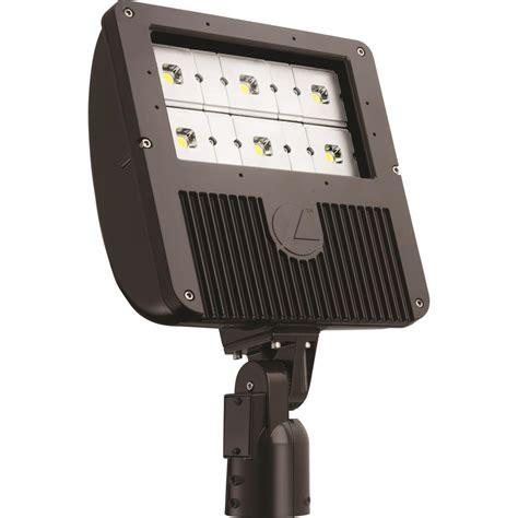 integrated led outdoor lighting lithonia lighting 129 watt dark bronze outdoor integrated