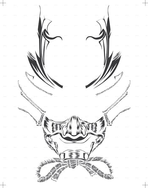 samurai head  douglast graphicriver