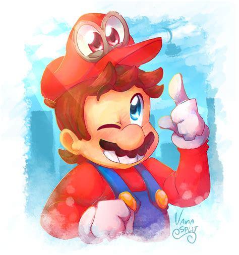 Super Mario Odyssey By Vanabananasplit On Deviantart