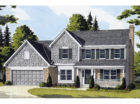 two colonial house plans hodelle colonial two home plan 065d 0153 house