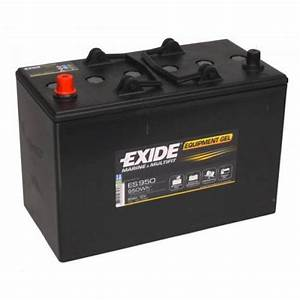 Batterie Exide Gel : batterie exide equipment gel 85ah es950 accastillage bateau ~ Medecine-chirurgie-esthetiques.com Avis de Voitures