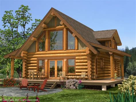 Small Log Home With Loft Log Home Plans And Prices, Log