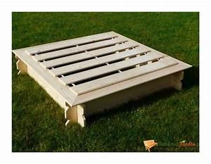 Bac à Sable Bois : bac sable carr en bois julo avec couvercle ~ Premium-room.com Idées de Décoration