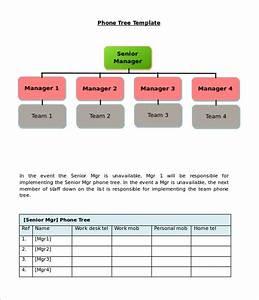 11  Printable Phone Tree Templates