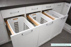 Pull Out Cabinet Drawers Home Depot by Downstairs Laundry Room The Sunny Side Up Blog