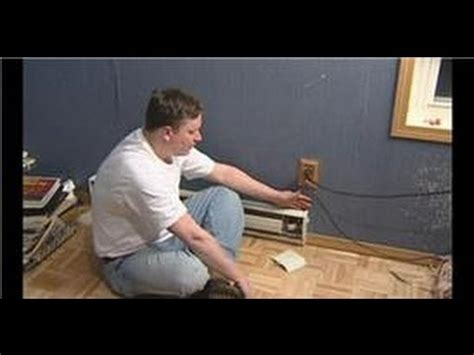 plumbing hvac maintenance how to wire a baseboard heater