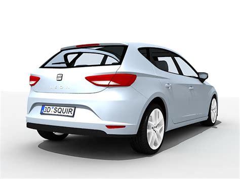 seat leon car  model ds max files