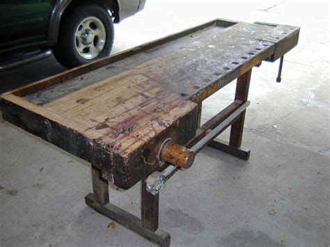 Fe Guide Building  Used Woodworking Bench For Sale