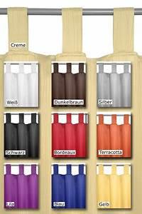 Vorhang Gelb Blickdicht : schlaufenschal blickdicht vorhang gardine design und farbe frei w hlbar ebay ~ Markanthonyermac.com Haus und Dekorationen