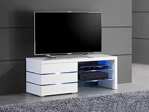 Meuble Tv Pour Chambre : meuble tv haut pour chambre ~ Teatrodelosmanantiales.com Idées de Décoration