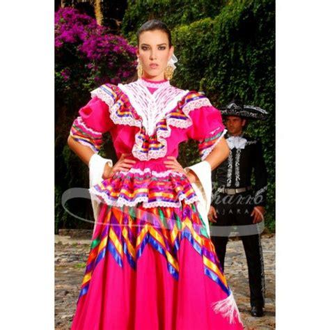 Traje tipico de Jalisco Mexico Vestidos tipicos de