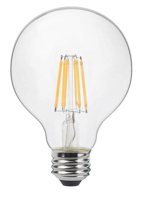 Product Of The Week Realistic Led Bulb by Thinklux Filament Led G25 3 Inch Globe Edison Style Light