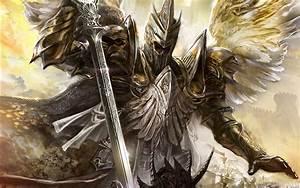 Wallpaper Armor Swords Helmet Warriors Wings Fantasy Angels