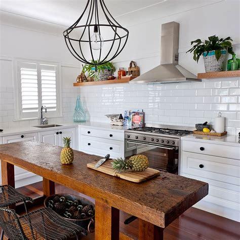 long narrow kitchen ideas  pinterest