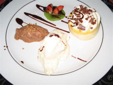 bild quot dessert beim candle light dinner quot zu hotel villa dolce vita in bodenmais