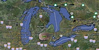Updated map of Michigan on Google Earth. | IGN Boards