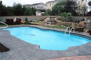 Inground swimming pool paradise create your own for Design your own swimming pool
