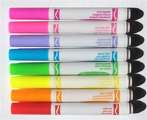 Crayola eXtreme colors colored pencils, markers ...