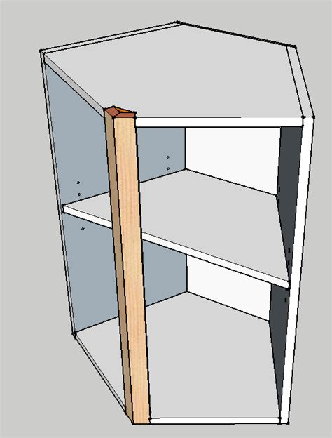 how to build a corner cabinet for a tv frameless island corner cabinet how to build finish