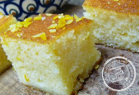 semolina cake recipe food  amma