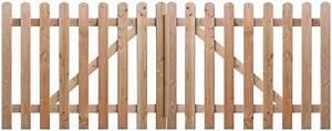 Portail Bois 4m : portail bois pas cher brico depot ~ Premium-room.com Idées de Décoration