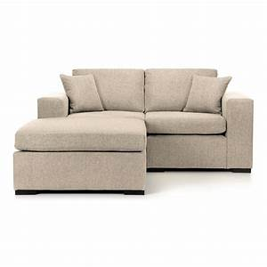 Small sofa chaise chaise upholstered sectional bett for Small sectional sofas with chaise lounge