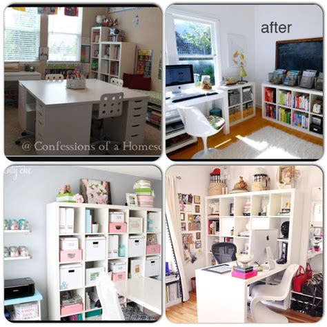 Arbeitszimmer Ikea Expedit by Ikea Expedit Shelving And Desk Ideas For Homeschool Room