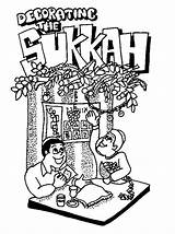 Coloring Sukkot Holiday Printable Jewish Printables Holidays Feast Important Thejewishlady Tabernacles Guides Crafts Decorations Projects Spend Decorating Familyholiday Torah Craft sketch template