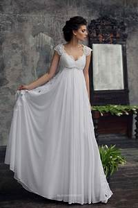 Empire waist wedding dresses with sleeves naf dresses for Empire style wedding dress