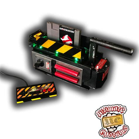 Ghostbusters Custom Ghost Trap Nintendo Nes Console System
