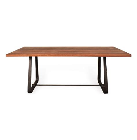 modern wood dining table westin industrial reclaimed wood modern dining table