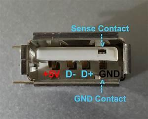 Special Usb Port With  U0026quot Sensor U0026quot  Contact
