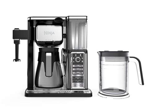 This ninja coffee maker was awarded the certified home brewer certification, the specialty coffee association's (sca) coveted mark of excellence. Ninja Coffee Bar Brewer System with Stainless Thermal ...