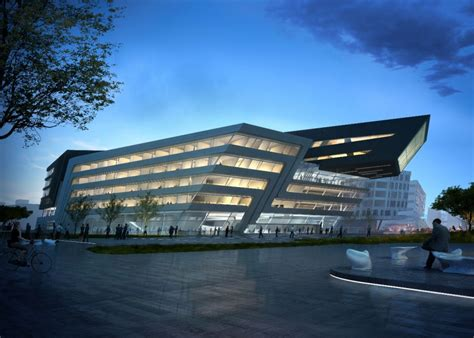 Zaha Hadid's Library And Learning Center Buildipedia