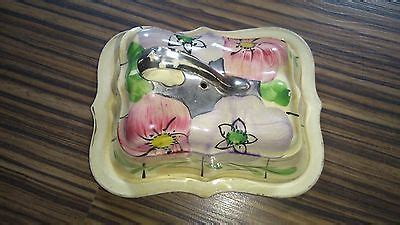 vintage arthur wood butter dish butter dishes  vintage