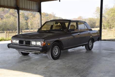 Peugeot 604 For Sale by 1984 Peugeot 604 Turbo Diesel Original Paint For Sale