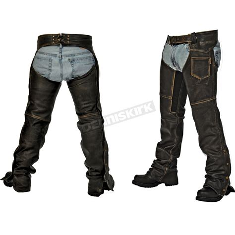chaps blouses milwaukee motorcycle clothing co black distressed