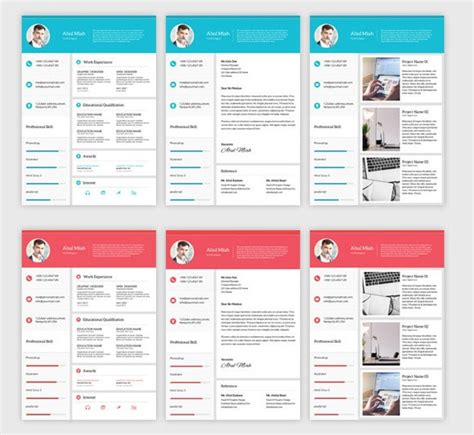 material template 15 material design resume templates for the impression templateflip