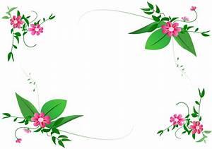 flower-border-vector PNG | My Blog
