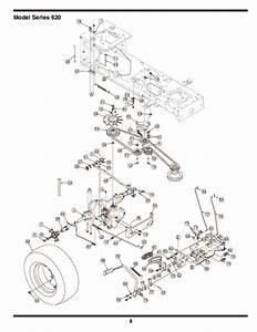 Mtd 620 Hydrostatic Lawn Tractor Mower Parts List
