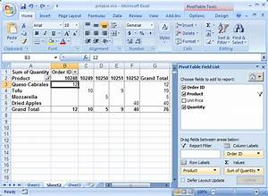 Pivot Chart Excel Mac Ms Excel 2007 How To Remove Column Grand Totals In A