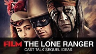 The Lone Ranger: Cast & Crew Talk The Lone Ranger 2 - YouTube