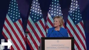 Hillary Clinton Speech at the Democratic National ...