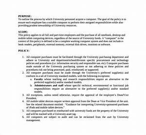 Policy and procedure template 10 download documents in pdf for Process and procedures template
