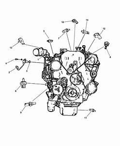 2012 Jeep Compass Sensor - Engine