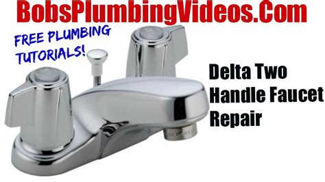 how to repair delta kitchen faucet how to replace delta style stems and seats cartridge