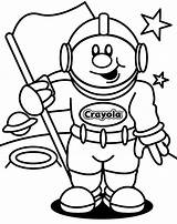 Astronaut Coloring Pages Printable Astronauts Cut sketch template